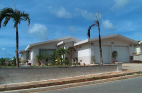 All concrete DRS Home in Guam