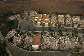 ICF homes stand up to fire in San Diego, CA
