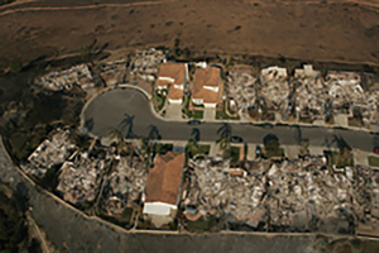 3 ICFs homes survive a devasting fire in San Diego, CA